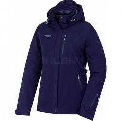 _Husky Gairi L tmavě modrá dámská nepromokavá zimní lyžařská bunda změřeno