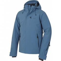 Husky Gopa M tmavě modrá pánská nepromokavá zimní lyžařská bunda
