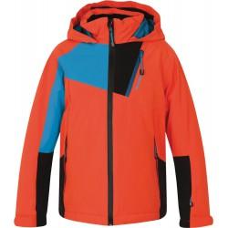 Husky Zawi Kids oranžová dětská nepromokavá zimní lyžařská bunda HuskyTechStretch 15000