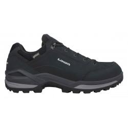 Lowa Renegade III GTX LO Wide black/graphite pánské nízké nepromokavé kožené boty