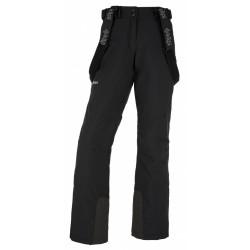 Kilpi Elare-W černá LL0040KIBLK dámské nepromokavé zimní lyžařské kalhoty