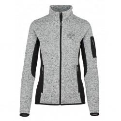 Kilpi Rigana-W světle šedá dámský sportovní outdoorový svetr