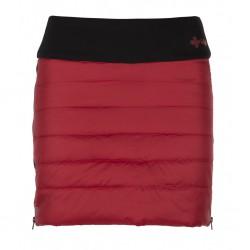 Kilpi Matira-W červená dámská zateplená zimní sportovní sukně