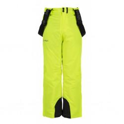 _Kilpi Methone-JB žlutá dětské zimní lyžařské kalhoty změřeno