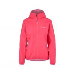 Kilpi Hurricane-W růžová dámská lehká nepromokavá bunda