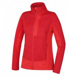 Husky Alan L jemná červená dámský sportovní svetr
