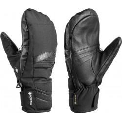 Leki Ergo S GTX Mitt black pánské lyžařské palcové rukavice