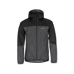 Kilpi Hurricane-M tmavě šedá 2019 pánská lehká nepromokavá bunda