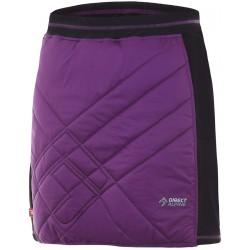 Direct Alpine Tofana Lady 2.0 violet/black dámská zateplená sukně Pertex Quantum/Primaloft