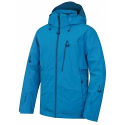 Husky Montry M modrá pánská nepromokavá zimní lyžařská bunda