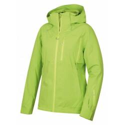 Husky Montry L výrazně zelená pánská nepromokavá zimní lyžařská bunda1