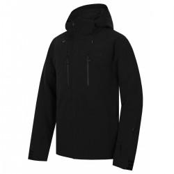 Husky Gonzal M černá pánská nepromokavá zimní lyžařská bunda