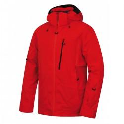 Husky Montry M červená pánská nepromokavá zimní lyžařská bunda