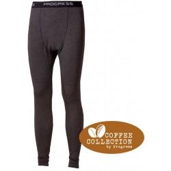 _Progress CC SDN antracit pánské spodky dlouhá nohavice Coffee Collection