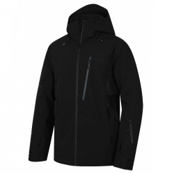 Husky Montry M černá pánská nepromokavá zimní lyžařská bunda
