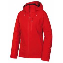 Husky Montry L červená dámská nepromokavá zimní lyžařská bunda1