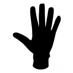 Progress Slimy černá unisex lehké rukavice