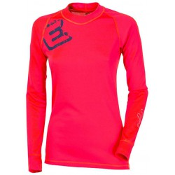 Progress Dry Fast DF NDRZ Print červená dámské triko dlouhý rukáv (2)