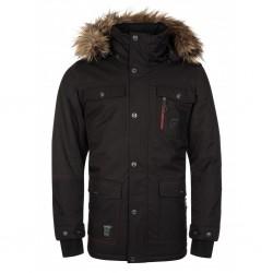 Kilpi Alpha-M black pánská zimní bunda