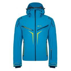 Kilpi Turnau-M modrá pánská nepromokavá zimní lyžařská bunda
