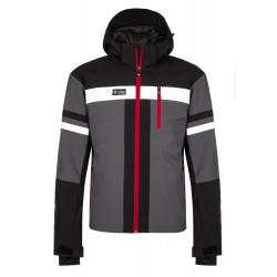 Kilpi Ponte-M tmavě šedá pánská nepromokavá zimní lyžařská bunda