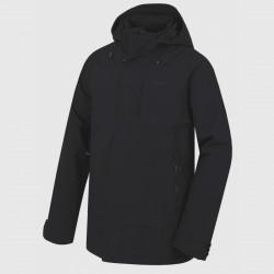 Husky Nigalo M černá pánská voděodolná zimní bunda Huskytech Stretch 10 000
