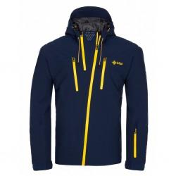 Kilpi Thal-M tmavě modrá pánská nepromokavá zimní lyžařská bunda