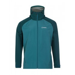 Berghaus Paclite 2.0 Shell Jacket M turquoise pánská nepromokavá bunda