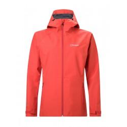 Berghaus Paclite 2.0 Shell Jacket W červená dámská nepromokavá bunda