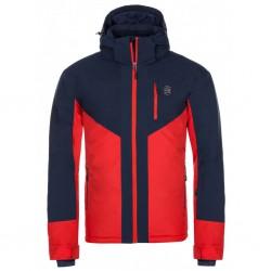 Kilpi Tauren-M červená pánská voděodolná zimní lyžařská bunda