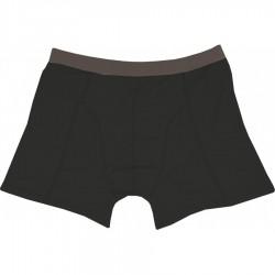 Novia Bambusové boxerky 01 černá pánské sportovní boxerky