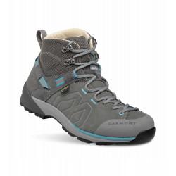 _Garmont Santiago GTX W grey/turquoise dámské nepromokavé kožené trekové boty změřeno