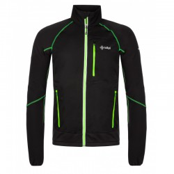 Kilpi Nordim-M černá/zelená pánská větruodolná bunda
