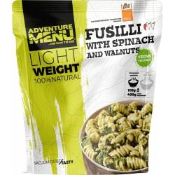 Adventure Menu Lightweight Fusilli se špenátem a vlašskými ořechy 400 g sušené vegan1