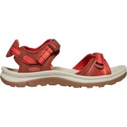 Keen Terradora II open toe sandal W 1022447  darkred/coral(1)
