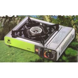 Meva Thunder KP06001 plynový vařič zelený