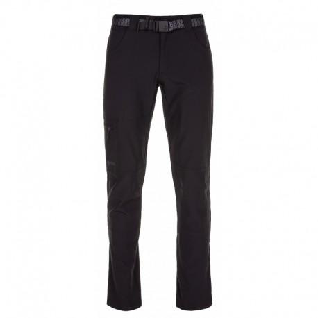 Kilpi James-M černá pánské turistické kalhoty