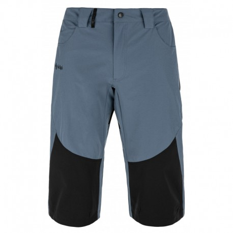 Kilpi Otara-M modrá pánské turistické tříčtvrteční kalhoty