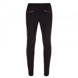 _Kilpi Amber-M černá pánské turistické kalhoty změřeno