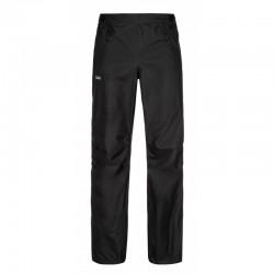 Kilpi Alpin-U černá unisex lehké sbalitelné nepromokavé kalhoty