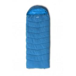 Pinguin Blizzard Wide PFM třísezónní dekový spací pytel Thermicfibre PFM modrý levý