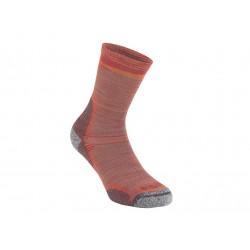 Bridgedale Hike Ultra Light T2 Merino Performance Crew multi orange trekové ponožky Merino