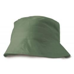 Caprio letní plážový klobouk bavlna - dárek k nákupu nad 3000 Kč/111 Eur zeleny