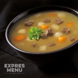 Expres Menu Hovězí vývar se zeleninou 600g sterilované jídlo na cesty