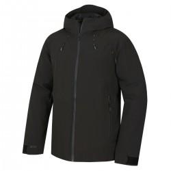 _Husky Narbi M černá pánská nepromokavá zimní bunda 10000 změřeno