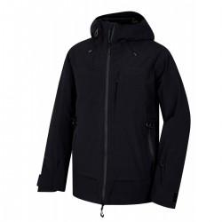 Husky Gombi M černá pánská nepromokavá zimní lyžařská bunda HuskyTechStretch 15000