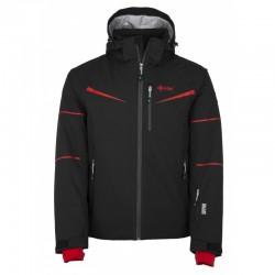 Kilpi Martin-M červená pánská nepromokavá zimní lyžařská bunda 10000