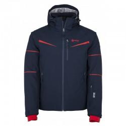 Kilpi Martin-M tmavě modrá pánská nepromokavá zimní lyžařská bunda 10000
