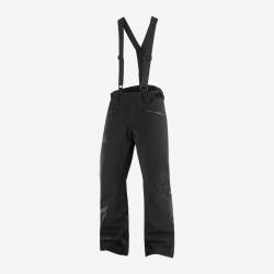 Salomon Force Pant M Black C14029 pánské nepromokavé zimní lyžařské kalhoty