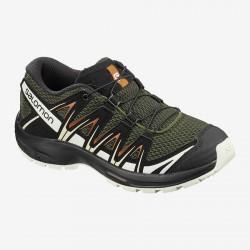 Salomon XA Pro 3D J grape leaf/vanilla ice 410424 dětské nízké prodyšné boty